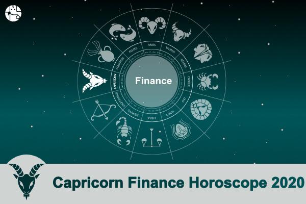 Capricorn Finance Horoscope 2020