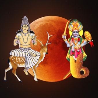 Chandra Ketu Grahan Dosha Shanti Puja