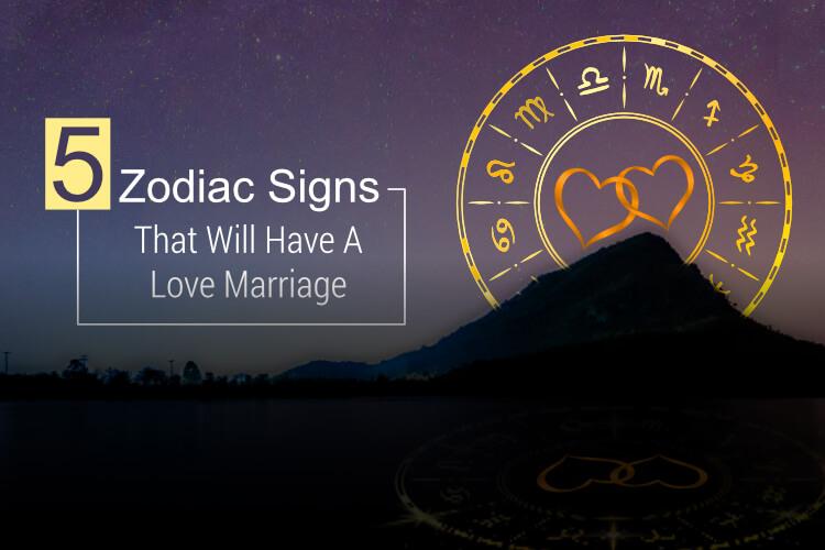 love marriage zodiac signs