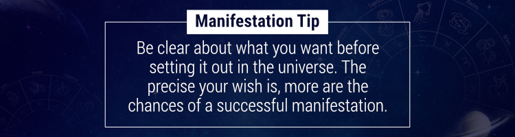 Manifestation Tip