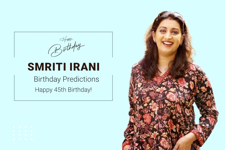 Smriti Irani birthday