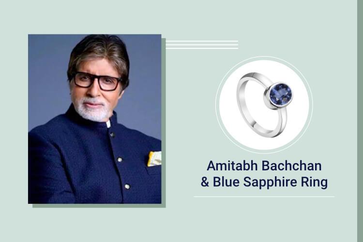 Amitabh Bachchan - Blue Sapphire (Neelam)