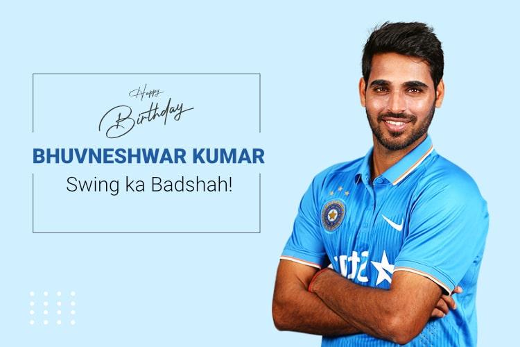 bhuvneshwar kumar birthday