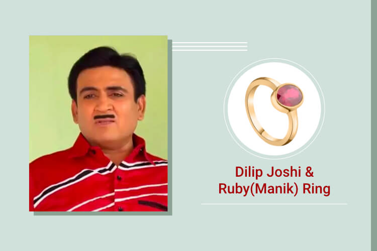 Dilip Joshi- Ruby (Manik)