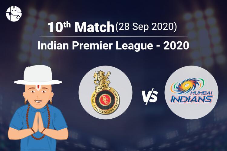 RCB vs MI IPL Match Prediction