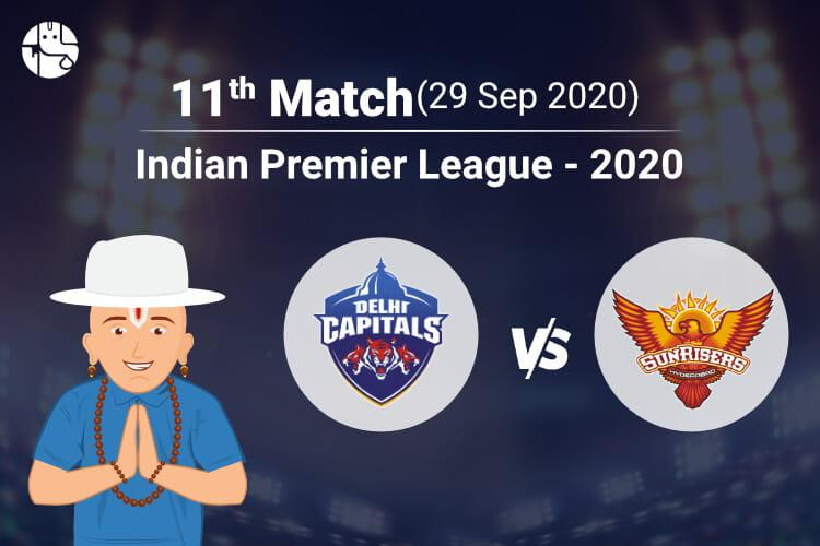 DC vs SRH IPL Match Prediction