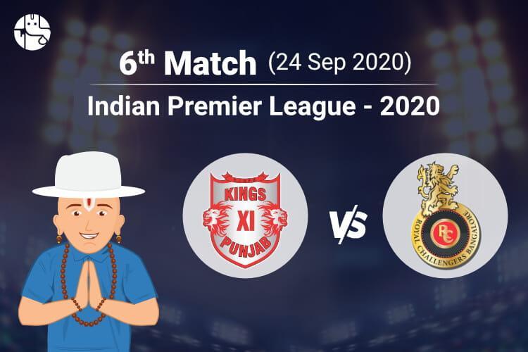 KXIP vs RCB IPL Match Prediction