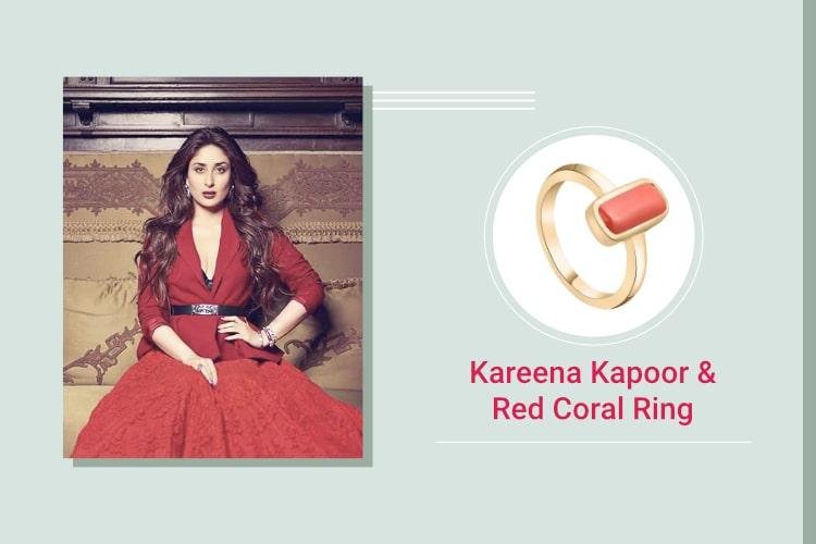 Kareena Kapoor Khan - Pearl and Red Coral