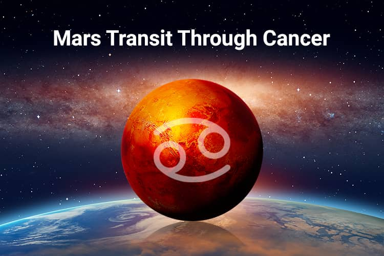 mars transit in cancer