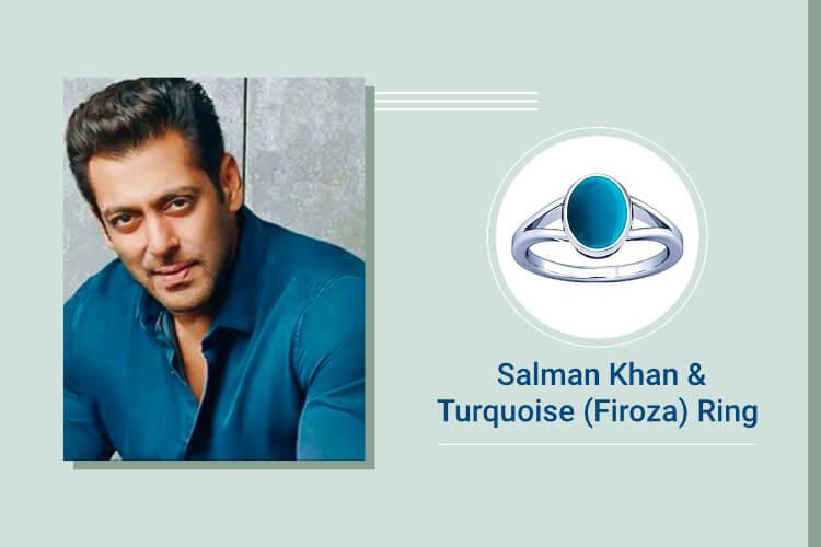 Salman Khan – Turquoise (Firoza)