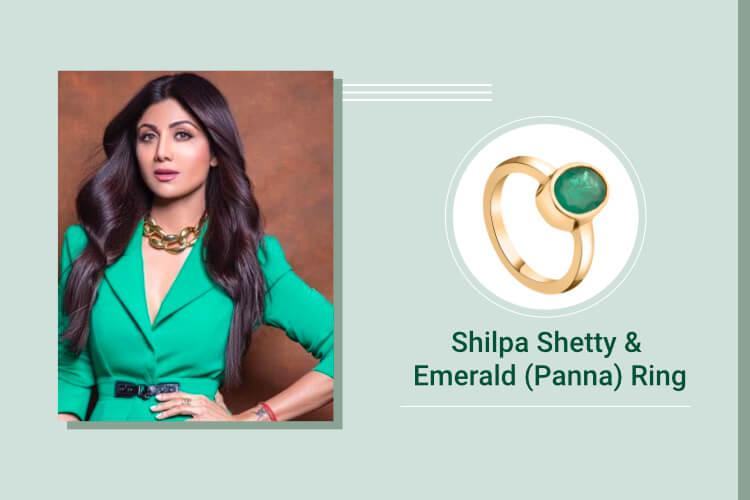 Shilpa Shetty – Emerald (Panna) A Lucky