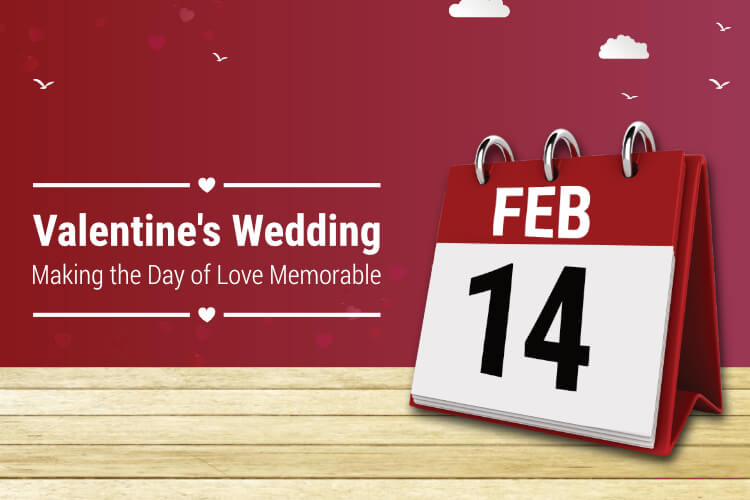 valentine day wedding