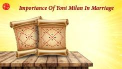 Significance Of Yoni Matching In Astrology
