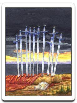 10 of Cups Tarot Card