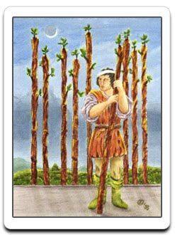 9 Nine of wands