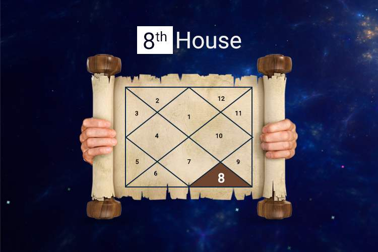 Eight houses in Vedic Astrology deal with the things that are considered...