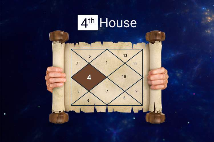 As per the Vedic Astrology, the fourth house is a representative...