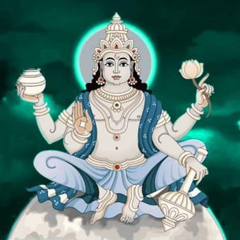 Chandra Graha Shanti Puja