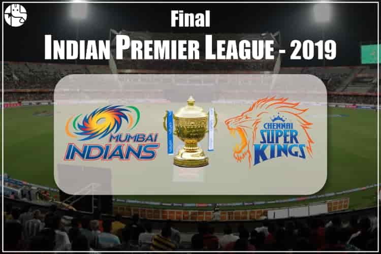 CSK vs MI IPL 2019 Final Match Prediction
