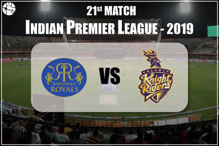 RR vs KKR IPL 21nd Match Prediction