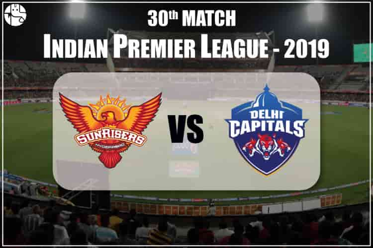 SRH vs DC IPL 30th Match Prediction