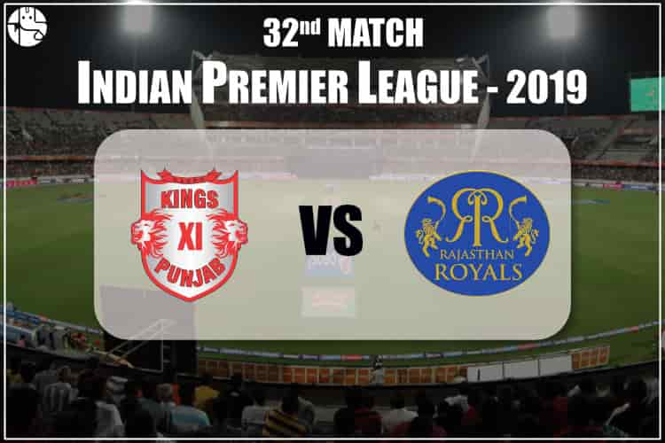 KXIP vs RR IPL 32nd Match Prediction