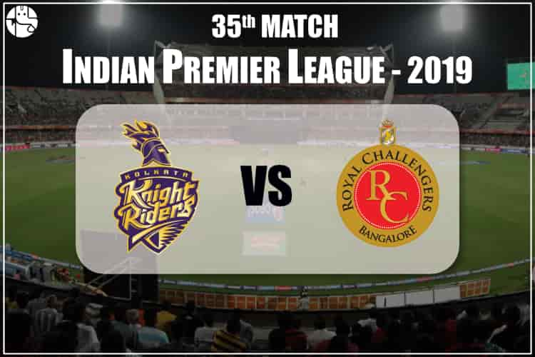KKR vs RCB IPL 35th Match Prediction