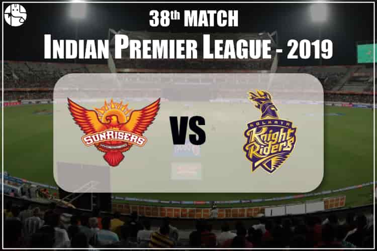 SRH vs KKR IPL 38th Match Prediction