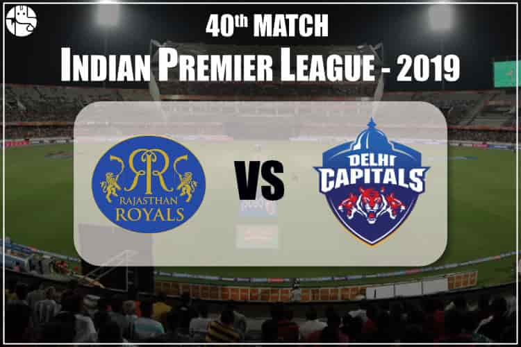 RR vs DC IPL 40th Match Prediction