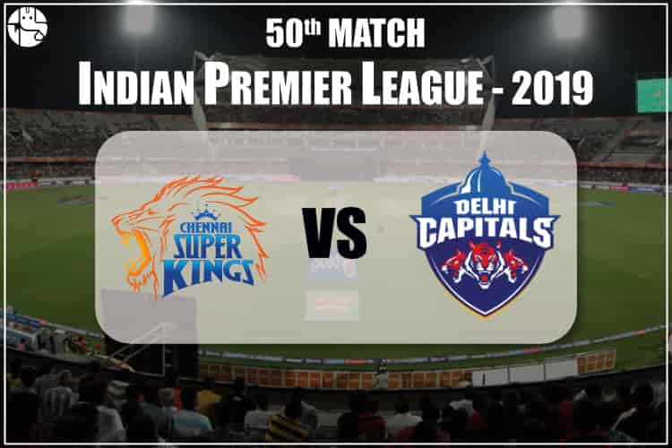 CSK vs DC IPL 50th Match Prediction