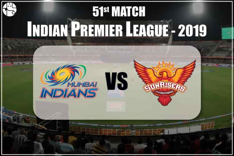 MI vs SRH IPL 51st Match Prediction