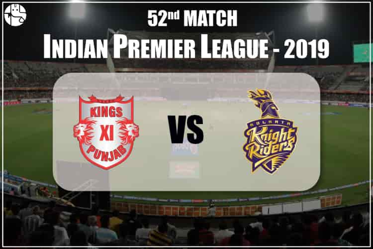 KXIP vs KKR IPL 52nd Match Prediction