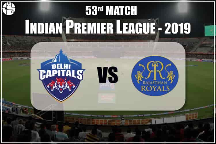 DC vs RR IPL 53rd Match Prediction