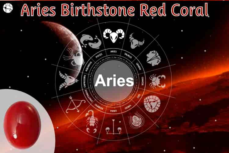 Aries Birthstone Red Coral