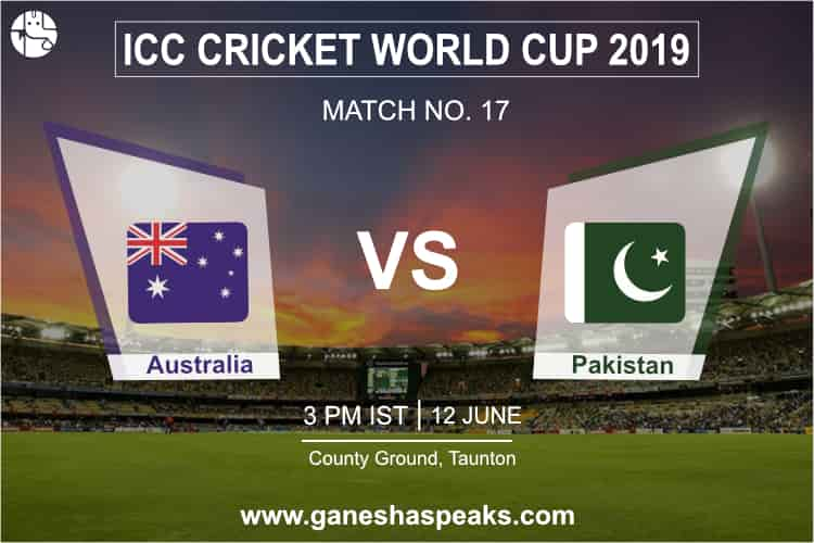 Australia vs Pakistan Match Prediction