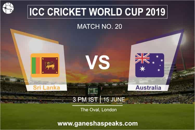 Sri Lanka vs Australia Match Prediction