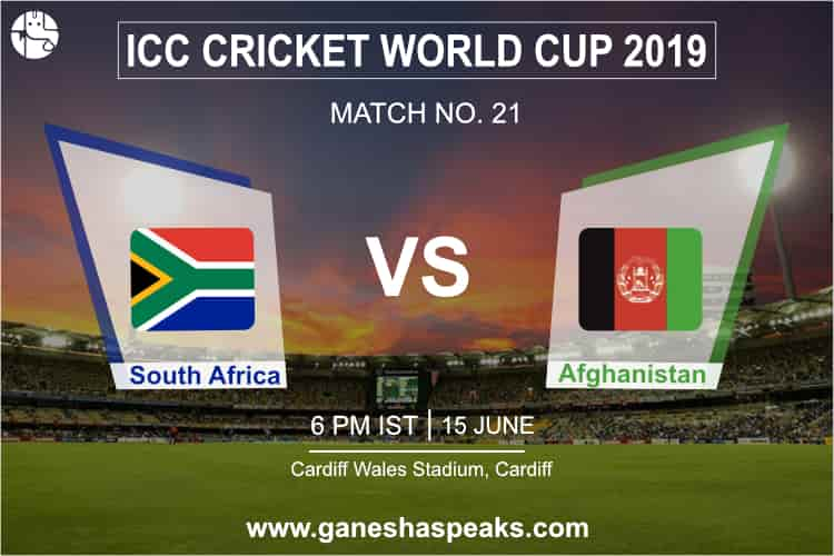 South Africa vs Afghanistan Match Prediction