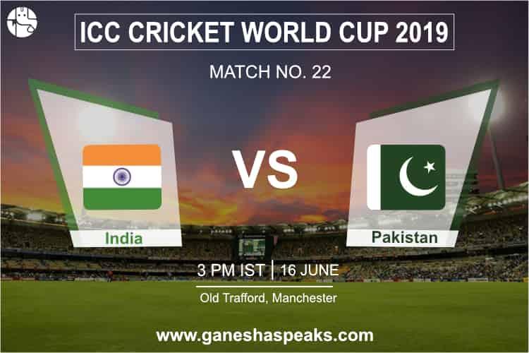 India vs Pakistan Match Prediction