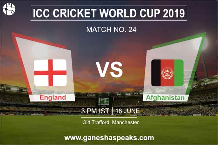 England vs Afghanistan Match Prediction