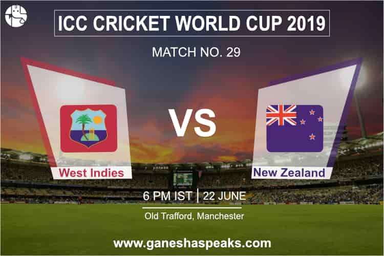West Indies vs New Zealand Match Prediction
