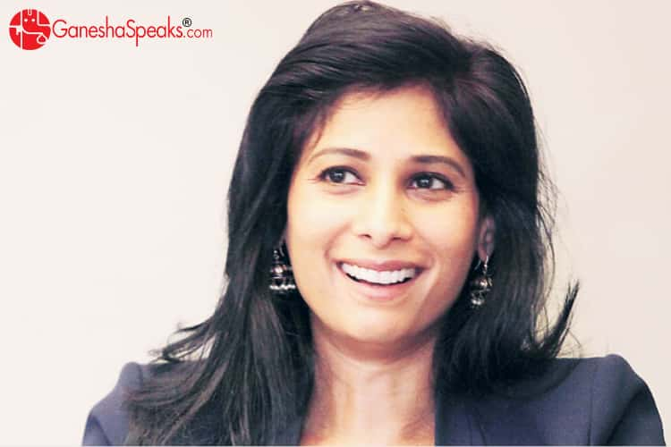 Gita Gopinath Future Prediction