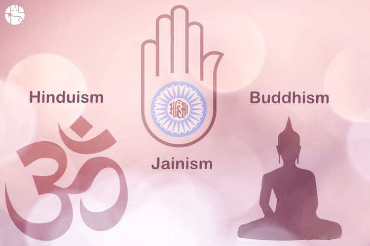 Hinduism Jainism Buddhism Comparison