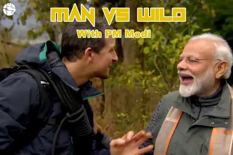 PM Modi goes on wild adventure