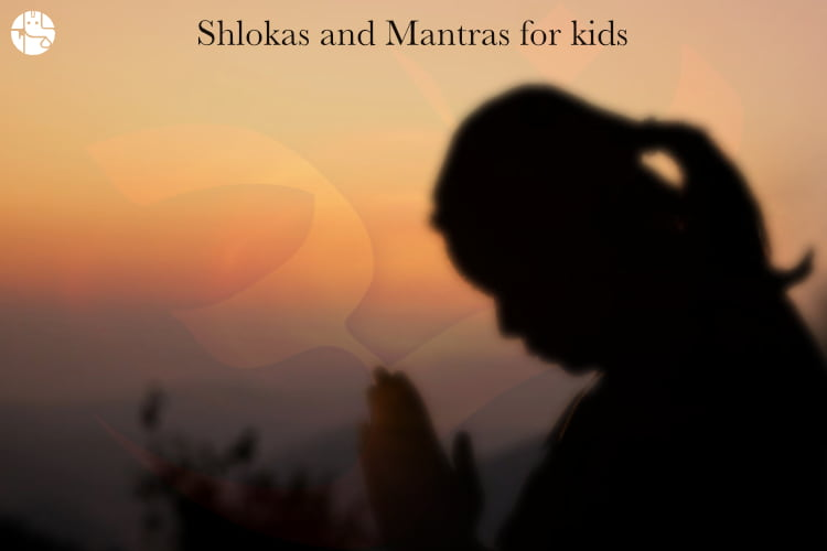 Shlokas and mantras, Shlokas for children