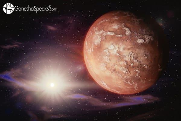 Mars in Shravan Nakshatra