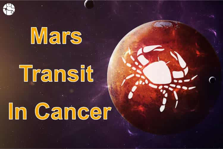 Mars Transit In Cancer 2019
