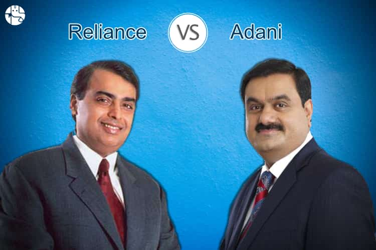Reliance Group Vs Adani Group