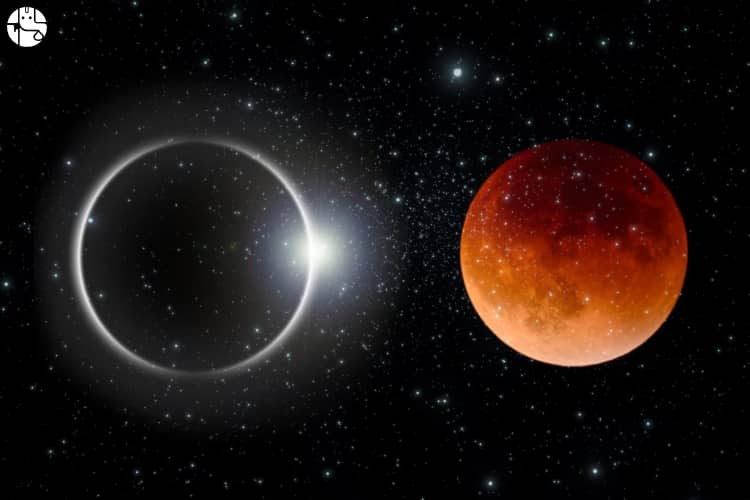 Solar and Lunar Eclipses - How are they seen across the world