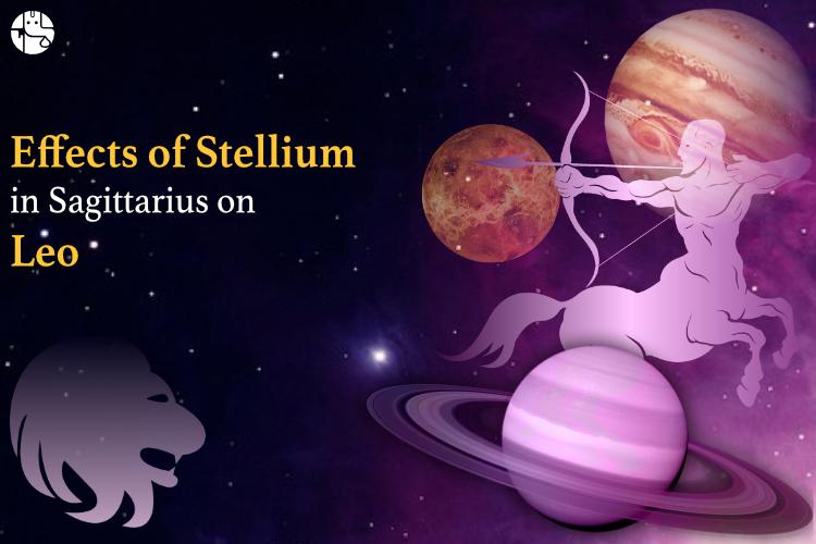Sagittarius stellium effect on leo