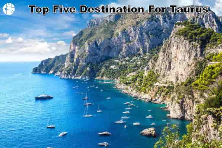 best travel destination for taurus